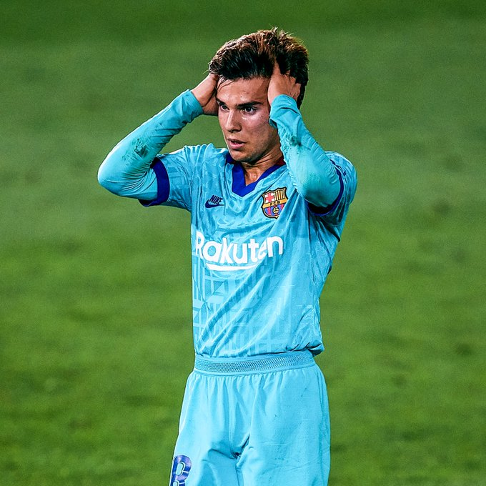 Riqui Puig on his way OUT