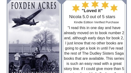 """Foxden Acres. Book 1 The Dudley Sisters Saga https://t.co/bGX0H21Ot7  #WW2 #MYSTERY #thriller #Landgirls #Love    #friends #family      """"Staying loyal while crossing the class divide for love. Love and Loss in wartime.""""  https://t.co/U380KTn8oa #paperback #Kindle #KindleUnlimited https://t.co/zgszh7a4n6"""