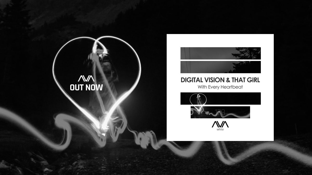 🎵 New Music [AVA White] Digital Vision & That Girl - With Every Heartbeat ❣️  🎧 OUT NOW ➞ https://t.co/uaip7bW90W ⠀⠀⠀⠀⠀⠀⠀⠀⠀ @digitalvision18 #thatgirl #vocaltrance #trancefamily @BlackHoleRec https://t.co/yuVQsEArrN