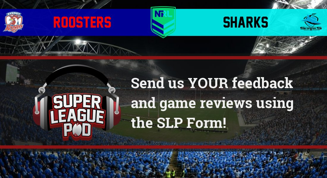 Send us your views on today's game between Roosters & Sharks for the next show! Leave them here: https://t.co/KwzwhVEefa  #NRLRoostersSharks #NRL https://t.co/9NXgOIoLbu