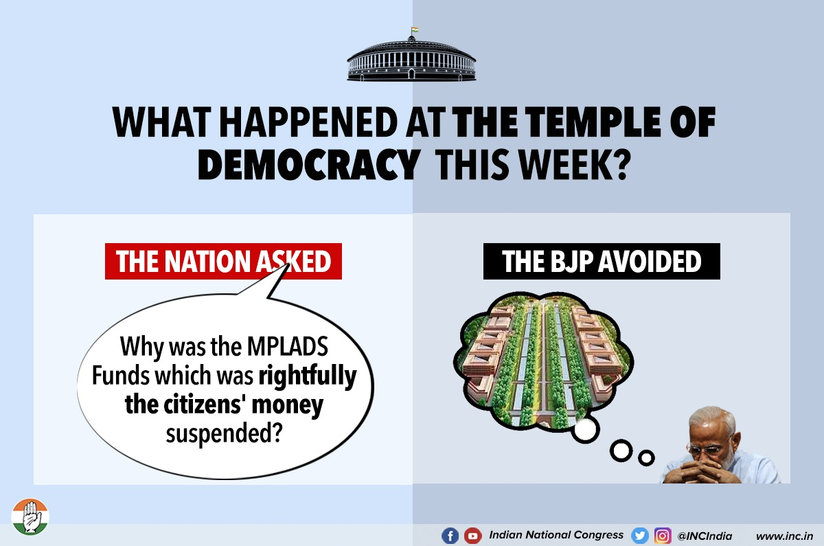 Emptying the citizens' pockets to fill their own is all that the BJP has managed to do since it came to power! https://t.co/qJ7JhndzUq