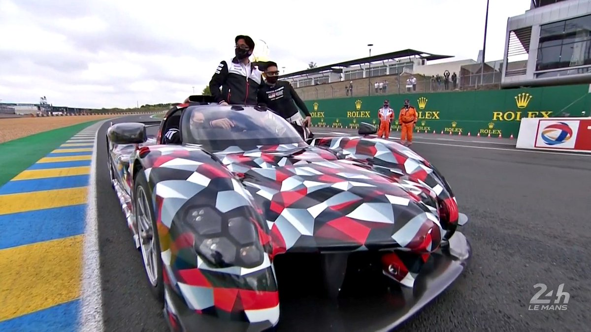 @alex_wurz @Toyota_Hybrid @FIAWEC @24hoursoflemans For the record, @Toyota_Hybrid's LM Hypercar will be closed cockpit (per regulations) when it makes its race debut. The roof in this instance has been removed in order to transport the @24hoursoflemans overall race winning trophy.  #LeMans24 #24hUnited https://t.co/faa401uCUG