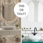 Image for the Tweet beginning: Which bathroom sink do you