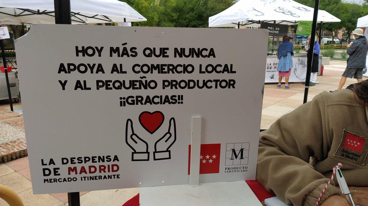 Apoyando el comercio local en #SevillaLaNueva  Productos de Madrid riquísimos @MadridCalidad  @Micocinantucasa  @zampatelmundo  @1000Madriz  @VinosdeMadridDO  @ComunidadMadrid  @IdiazAyuso https://t.co/sVDRGmzthi