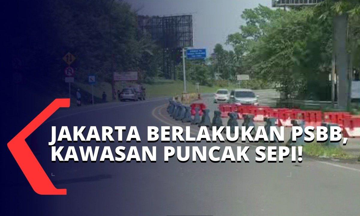 Pemkab Bogor Imbau Warga Tak Berlibur, Ini Situasi Lalu Lintas di Puncak Selama PSBB https://t.co/LYndKeYDkR https://t.co/mOiqFRKbRF