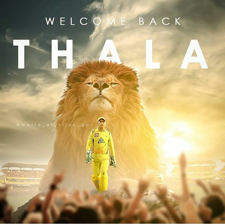 #Welcome_back_thala  #MIvCSK #Dhoni  19:29 💔 - 19:30💛  1 Hour 52 Minutes more  #Paltans #Lions on the way to hunt https://t.co/1oEBjn05A9