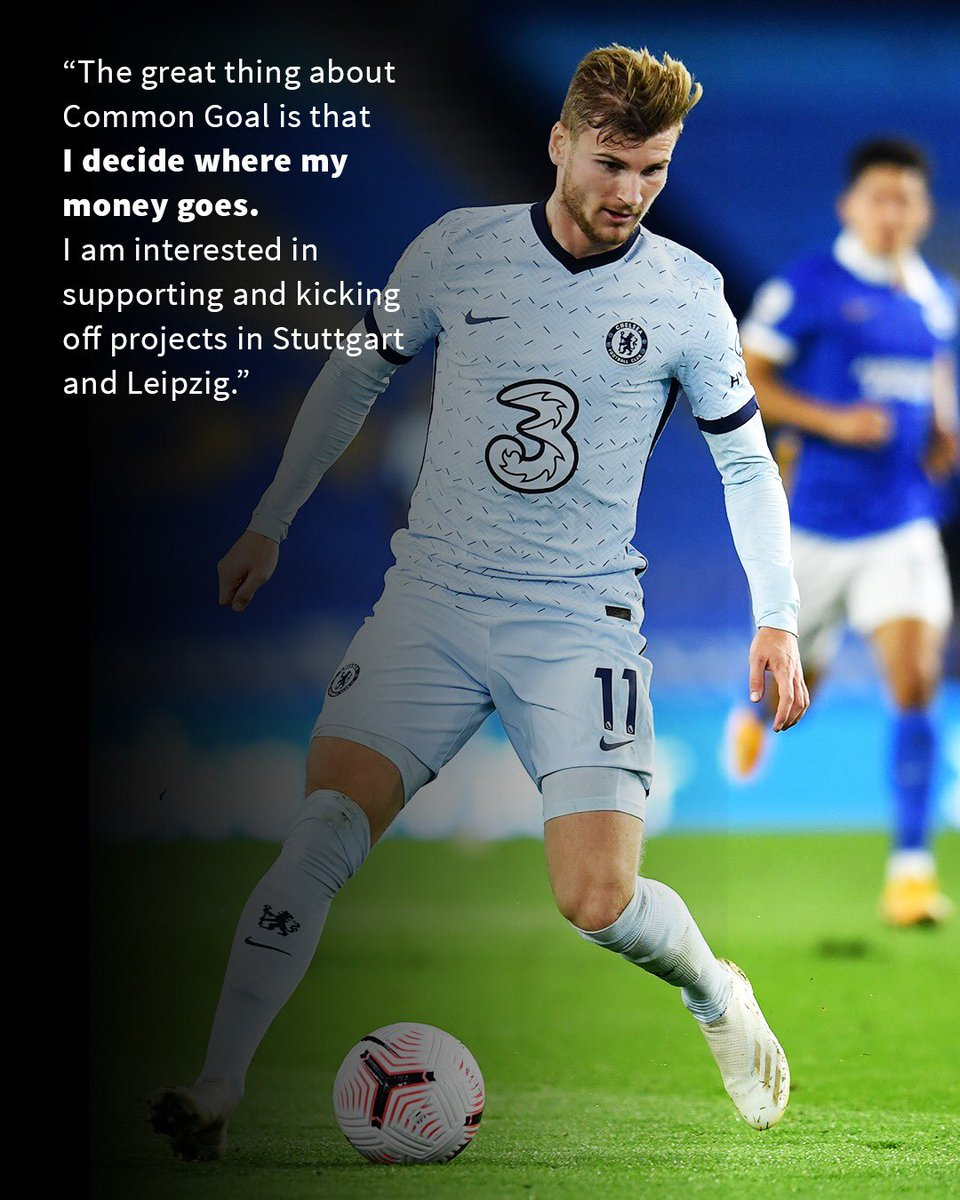 But at the same time, I am conscious of the fact that there are people all over the world currently struggling with the consequences of the coronavirus pandemic. That's why I would like to help as best as I can through Common Goal! 🌍⚽️ @CommonGoalOrg (2/2)