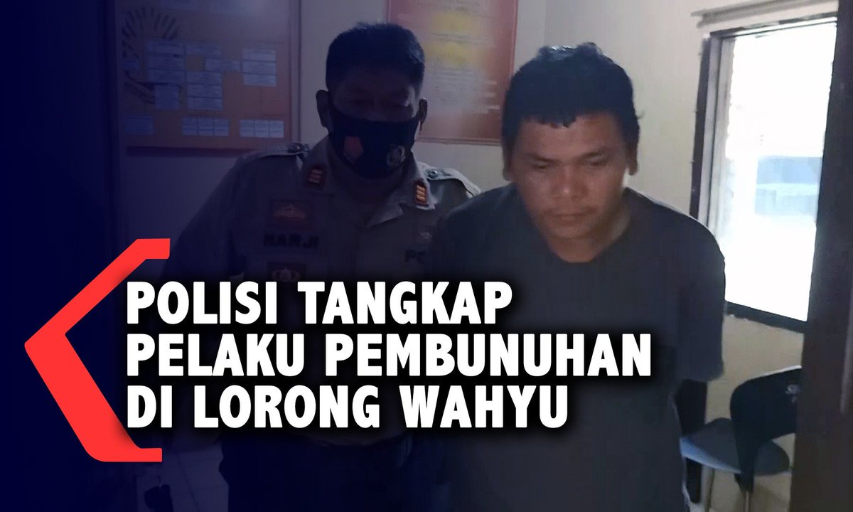 Polisi Tangkap Pelaku Pembunuhan https://t.co/H6XsZ2JhTb https://t.co/mv4AQNfcAL