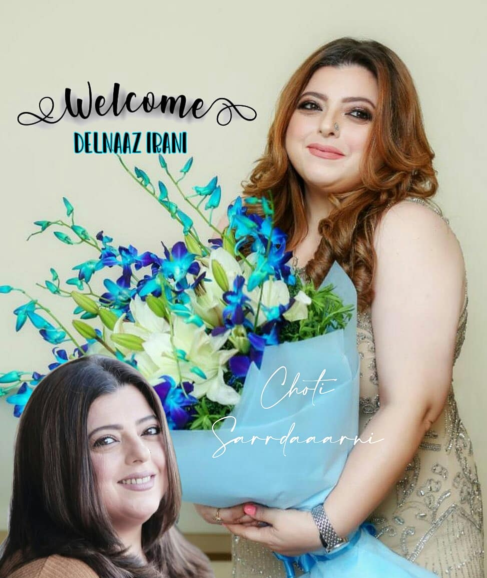 Welcome #DelnaazIrani to the show.🌸🌸  . . #Welcome #DelnaazIrani #ChotiSarrdaaarni #ChotiSarrdaarni #ColorsTV #NewRole #NewEntry #Special   @officialdelnaazirani ✨🌹 https://t.co/VDKhXyFRQJ