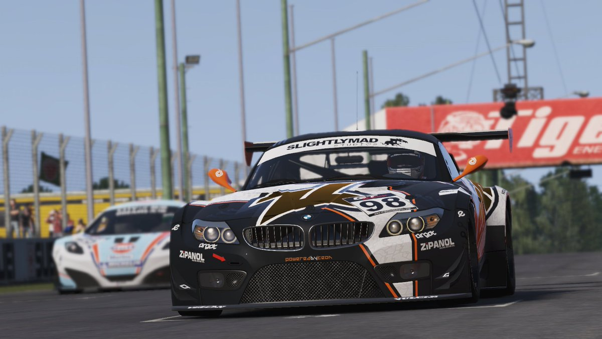 Join the #projectcars2 SoMs VroemVroem Room server for quick races; 10 min Qualifying & 7 rounds race, any car, any track. #pc2 #simracing https://t.co/B88aFA0StN