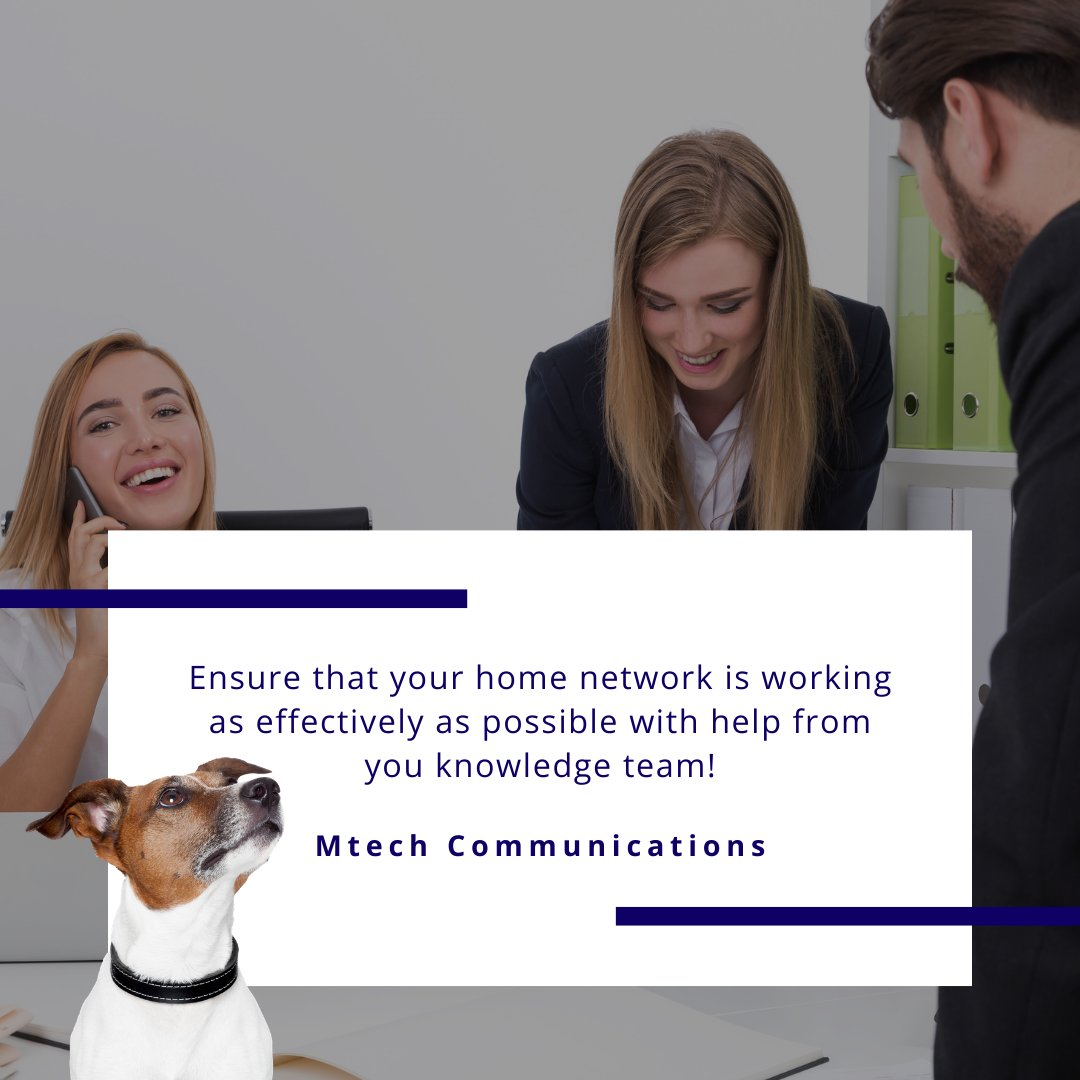It's important to ensure that your #home network is working as effectively as possible. 💻  Check out our top tips:  ✅ Effectively manage your router ✅ Optimise your devices ✅ Re-configure your router  Get in touch with our #knowledgeable team today. 💬 https://t.co/FvLB1LmaaI