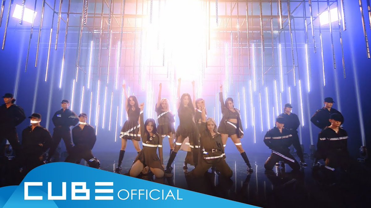Check out CLC's full MV for the English version of 'Helicopter' https://t.co/M06yz3ieNE https://t.co/WLCL7OXSp2