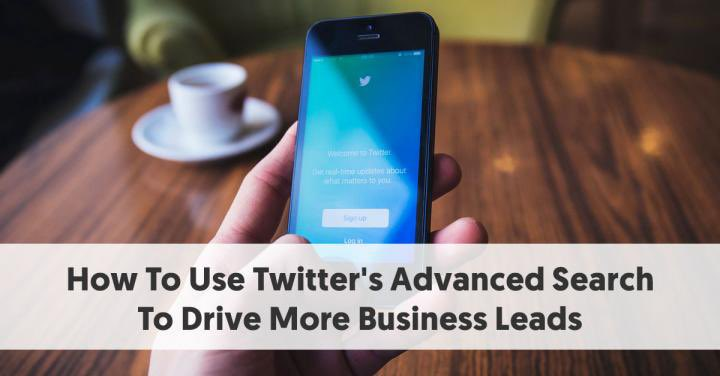 How To Use Twitter's Advanced Search To Drive More Business Leads paper.li/Twit_ROI/13926…