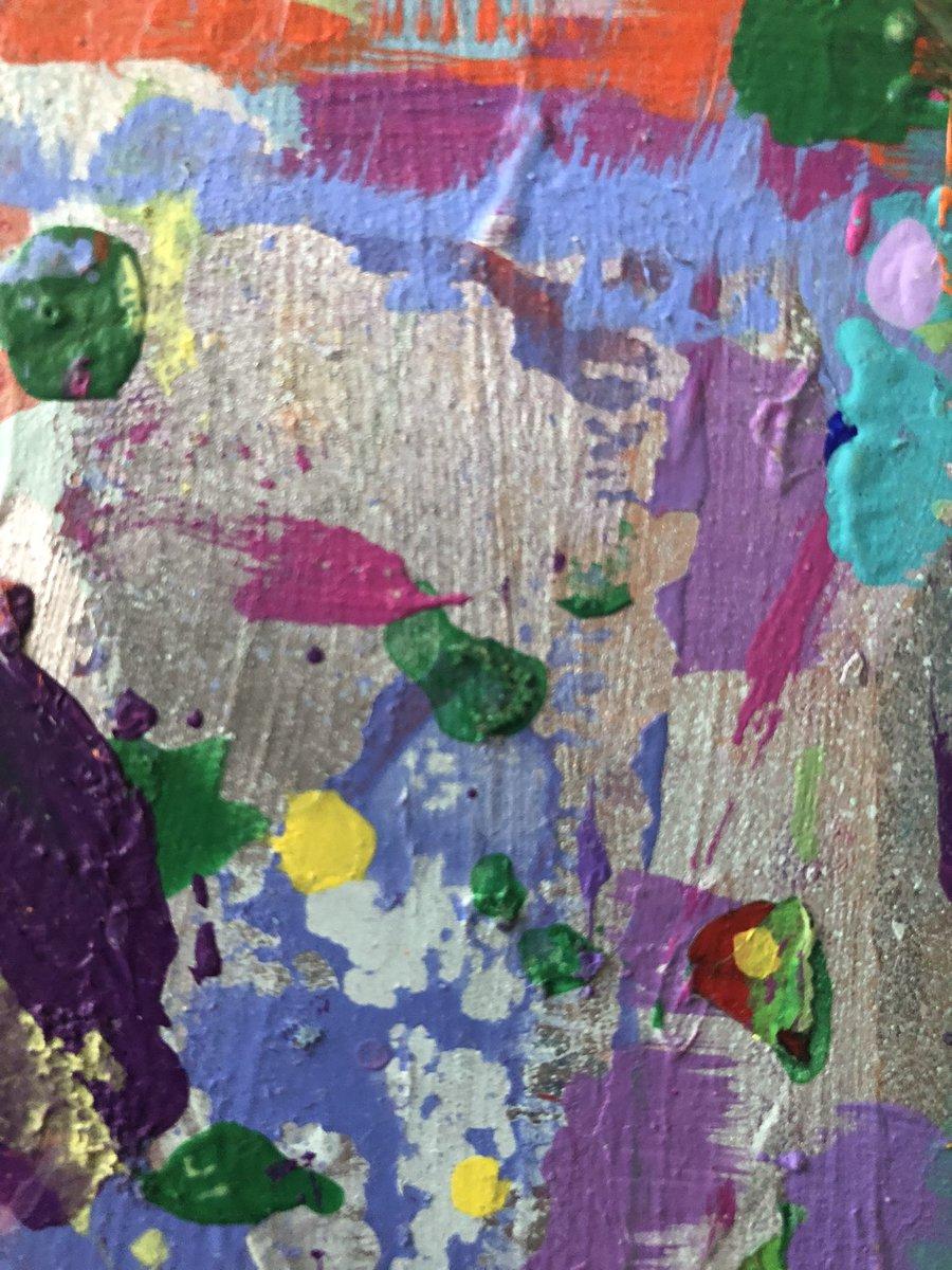 In the making, one of my work tables detail ✨✨at my studio in New York City ✨❤️✨#Bibi #bibiflores #visualartist #higerself #love #artistinnewyork #womenartistinnewyorkcity #spreadlove #multidimensional #multidisiplinary #energy #vibratehigher #shine https://t.co/tsGXrDlJY4