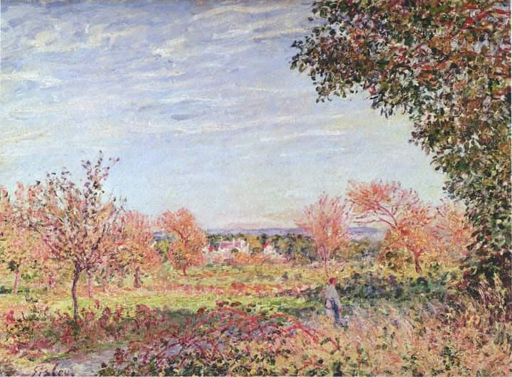 Alfred Sisley, September Morning, 1887 Musée des Beaux-Arts, Agen, France #alfredsisley #septembermorning #frenchpainter #impressionistpainter #artlover #arthistory #apaintingaday #museumathome #museumfromhome #onlinemuseum #virtualmuseum #virtualcollection #painter #painting https://t.co/DnvvBnNVfG