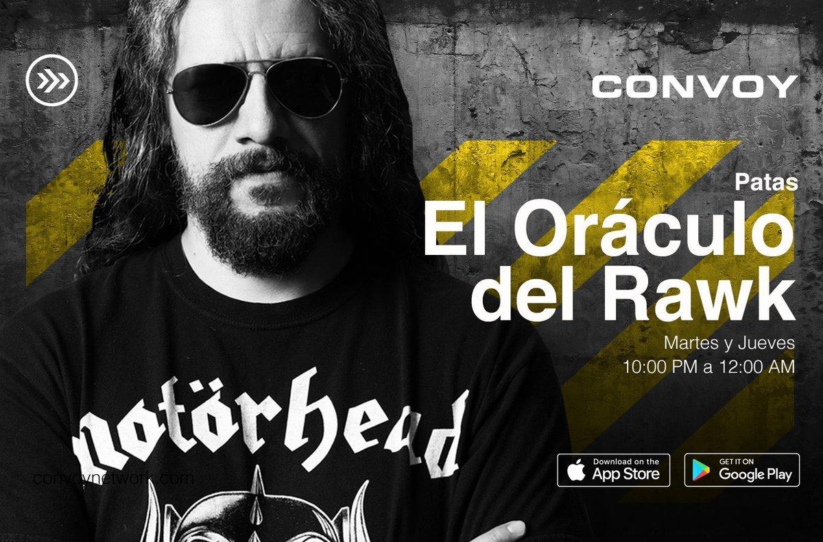 Escuchando a @ivannieblas #ElOráculoDelRawk en podcast. Solo por #CONVOY @convoynetwork https://t.co/XIbEEUW6d6