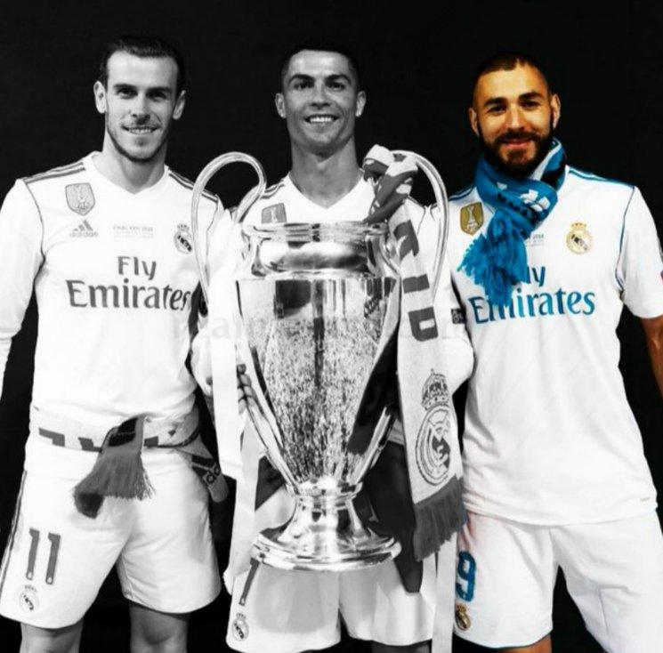 Es oficial!!! Se fue Bale, ya antes Cristiano y sólo queda K.B,  que tridente tan espectacular!! Cuántos goles, alegrías u UCL juntas. El #RealMadrid despide de a poco una de las mejores etapas de su vida. Creo no veremos algo igual en éstos tiempos!!! #Bale #CR7 #KB @realmadrid https://t.co/dCpBBFidES