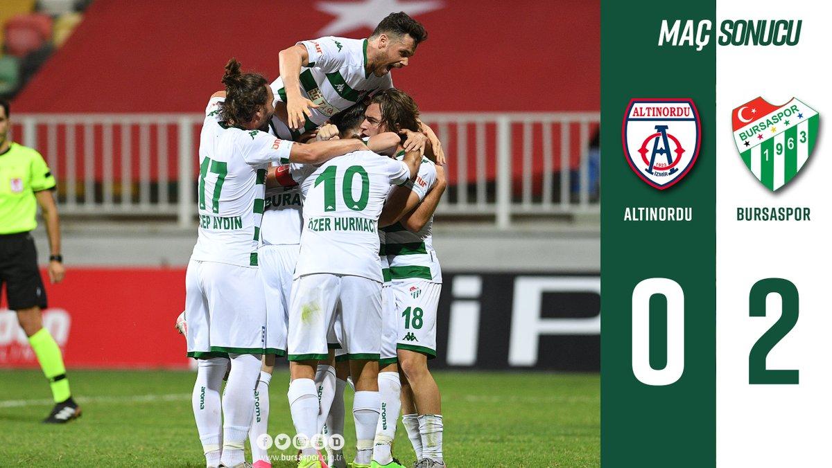Maç Sonucu Altınordu 0-2 Bursaspor #AOvBS https://t.co/hAhyorBaEJ