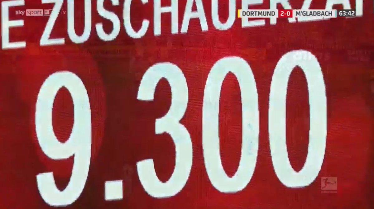 #Bundesliga #BVBBMG Ausverkauft! #BundesligaxFOX Sold out! https://t.co/ldKz9KBA0c