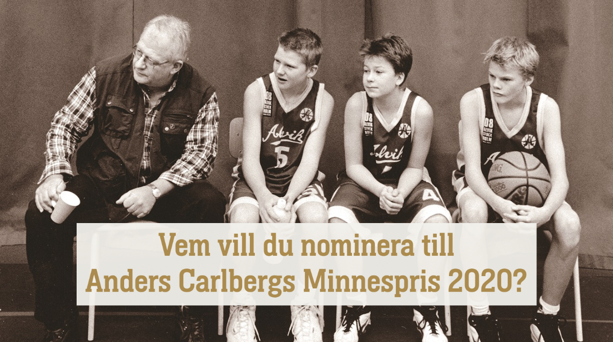 Vem vill du nominera till Anders Carlbergs Minnespris 2020? https://t.co/mJZhLbEqar https://t.co/yNtdf9KXFX