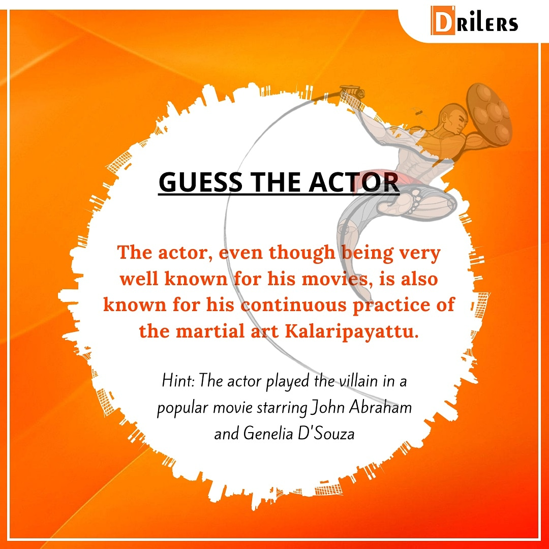 #ContestAlert🥇🥈🥉 It's time to win some prizes. Let your true Bollywood enthusiastic out and guess the actor here.  Exciting prizes in store 🏆🏅  #DrilersQuiz #contests #winners #prize #war #amazingprizes #contest2win #contestgiveaway #contestofchampions #geneliadsouza https://t.co/MbTkm62tjR