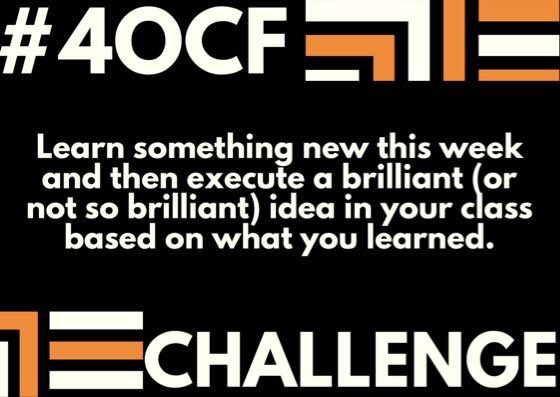 What can you try this week? Attempt something new and see if it works! amazon.com/Four-OClock-Fa… #4OCF