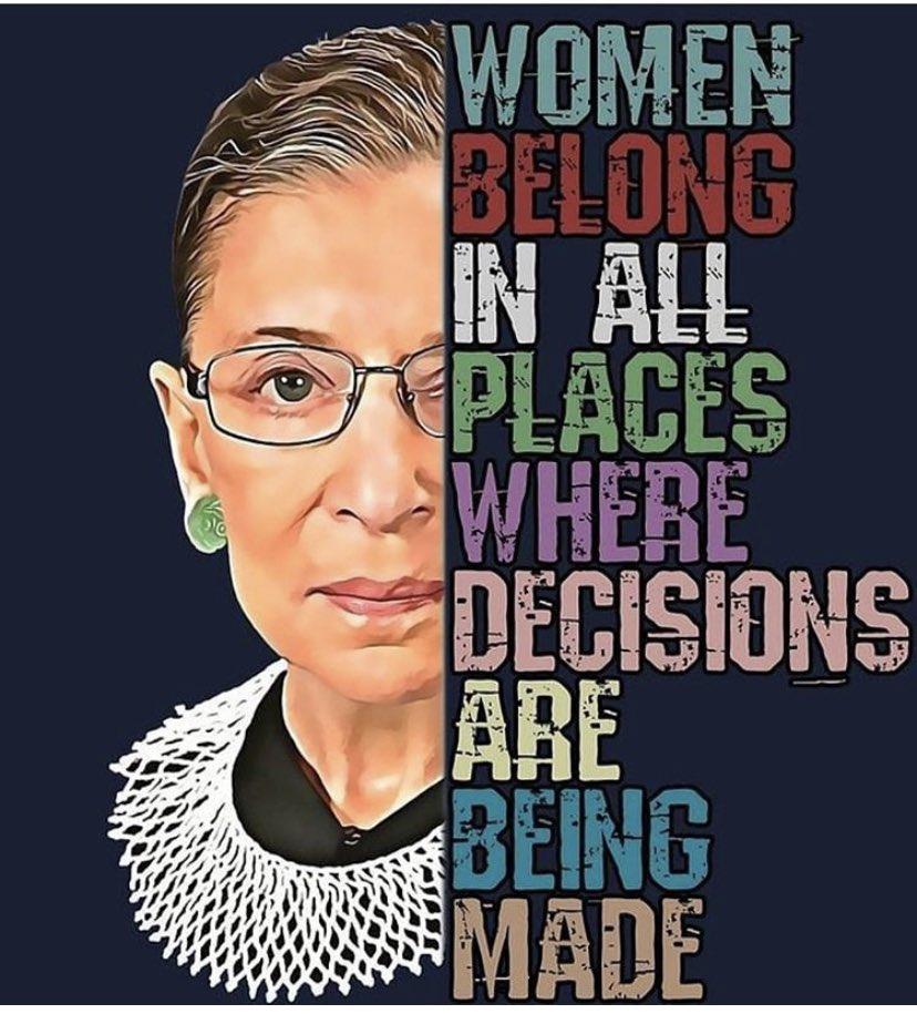 A true visionary, leader, and luminary of our time. May you Rest In Peace #RBG