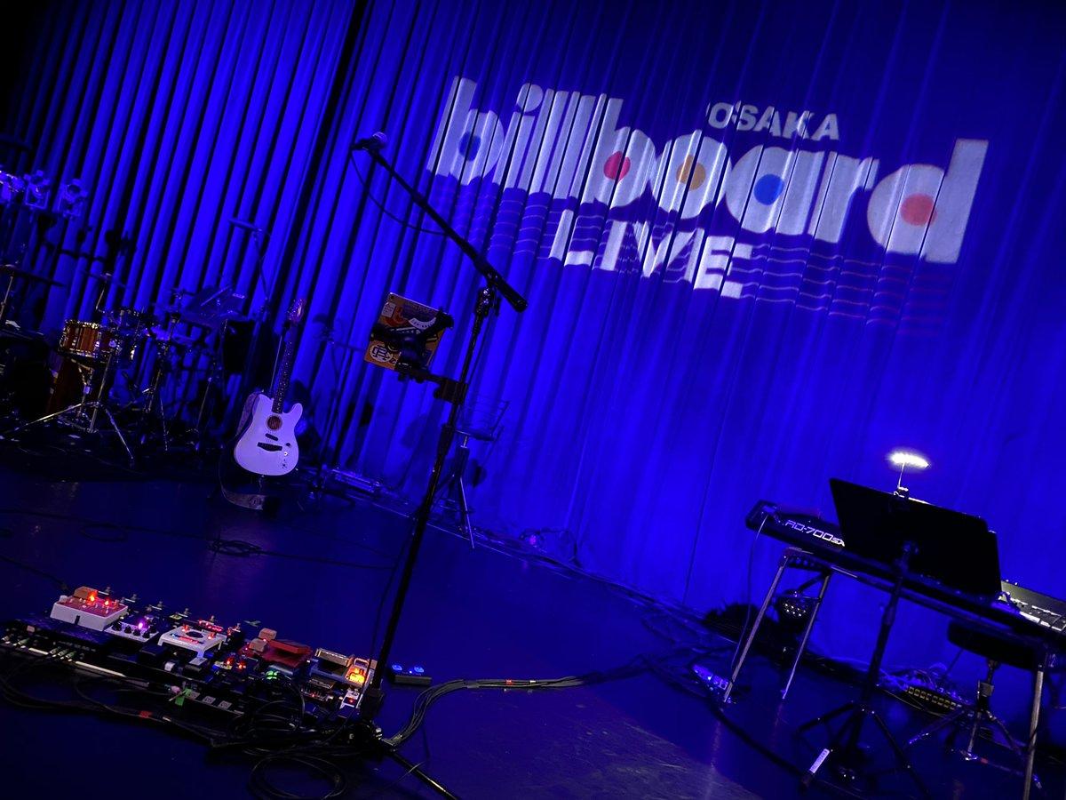 今日は、Billboard LIVE Osaka 🎵 MIYAVI さんのLIVEに行って来ました 😃  最高でした ‼️ 初 Billboard 大阪。皆さん、お疲れ様でした ✨ 2列目で、凄く観やすくて、MIYAVI さんが近くて、めっちゃよく見えた 😍 嬉しかった 🙌🏻🙌🏻  素敵な空間でした ☺️ 皆さんに感謝です 🙏🏻  #MIYAVI @MIYAVI_OFFICIAL https://t.co/5cnhjqpovJ