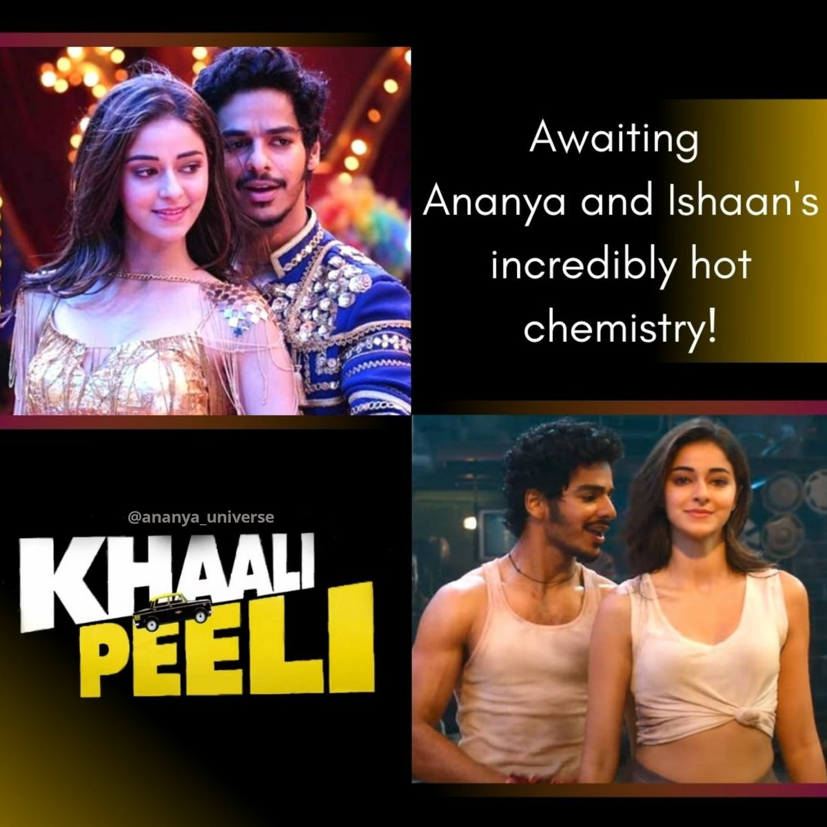 So excited for #khaalipeeli!!! 😍❤️ Eagerly waiting for this amazing duo!! @ananyapandayy #ananyapanday https://t.co/JjFv8TO2C3