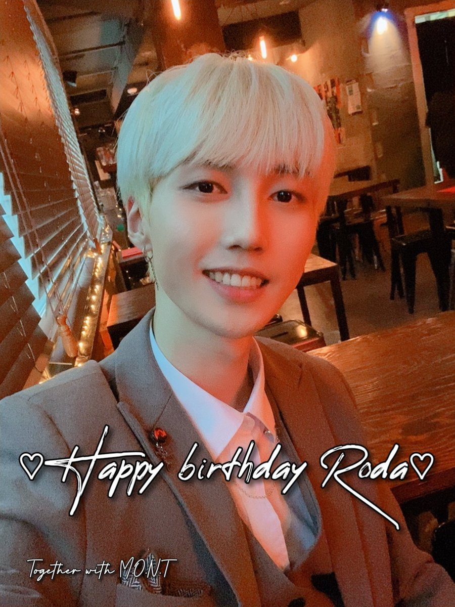 We want to wish Roda an amazing birthday!  Happy birthday Roda🎂🎉🎈  -Admin Smee  #HappyRodaDay #HappyBirthdayRoda #몬트 #민트 #나라찬 #빛새온 #로다 #MONT #MINT #NARACHAN #BITSAEON #RODA https://t.co/dQBJtoD9rd