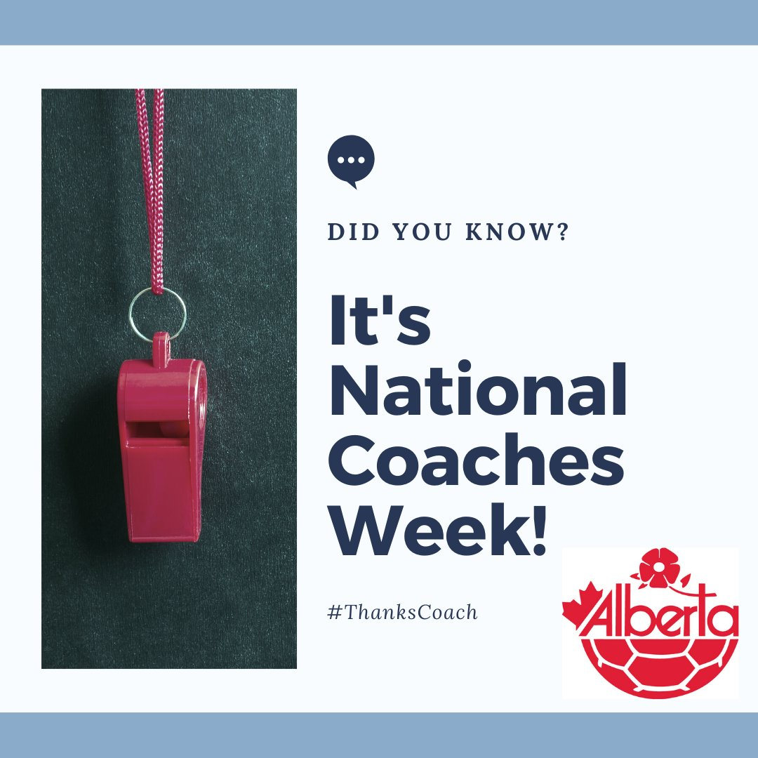 """Wanting to send a massive THANK YOU this National Coaches Week (Sept 19-27th) to all of the dedicated coaches out there working in the """"Beautiful Game"""". #ThanksCoach https://t.co/ot7zSrnJ3t"""