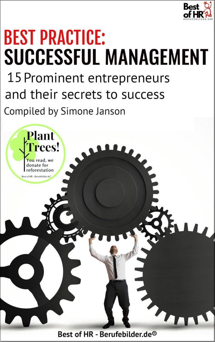 Best Practice: Erfolgreich Managen {+Bäume pflanzen & AddOn}  #CorporateCulture #Success #TimeManagement https://t.co/537yxjHzE9 https://t.co/HZQldrRISB