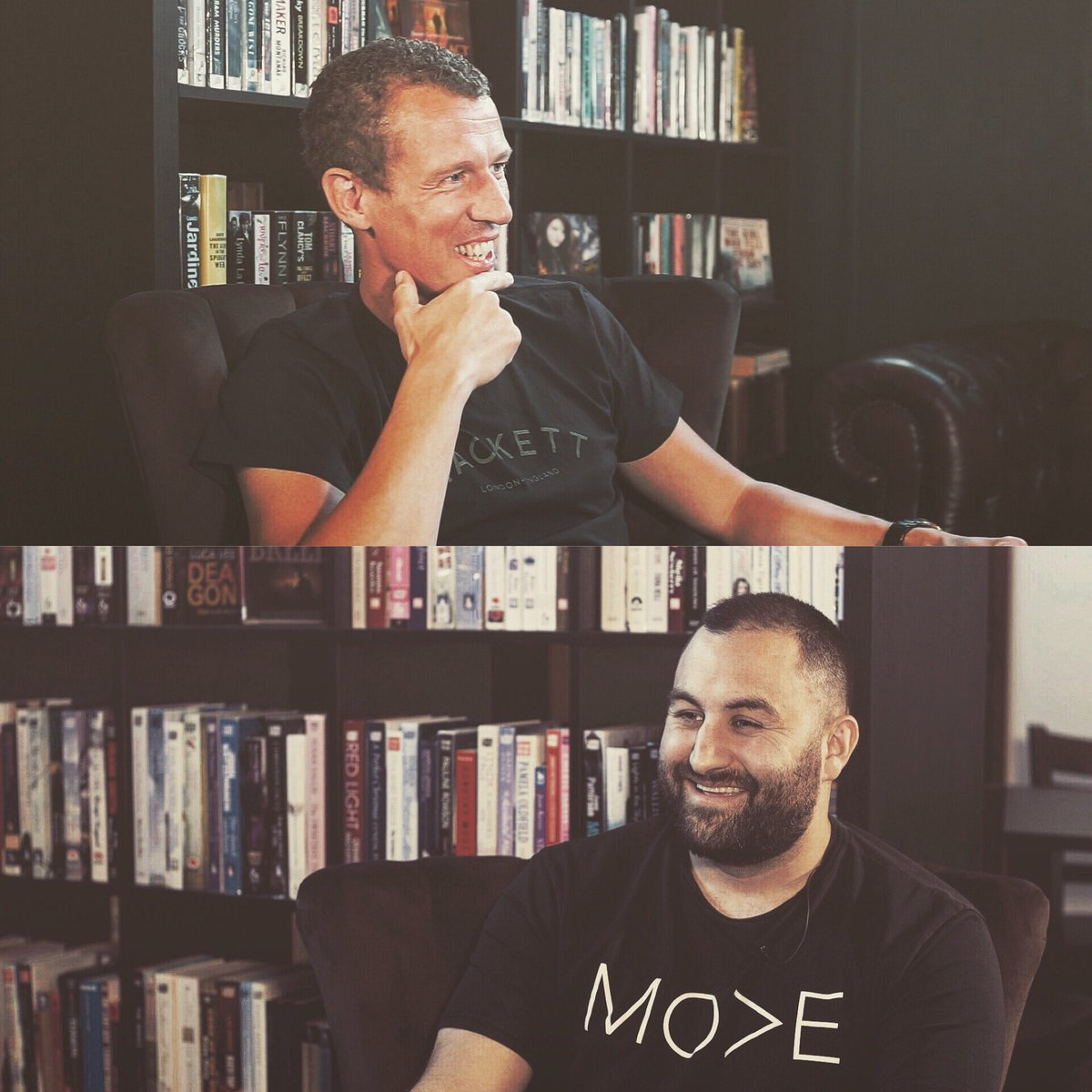 Pictures from today's very first Leadership Club Podcast, talking about mindset, circle of influence, education and investing in our communities with my friend and fellow entrepreneur @danielezzatvar looking forward to sharing the full thing with everyone. #leadership https://t.co/rTIK9Ol76B