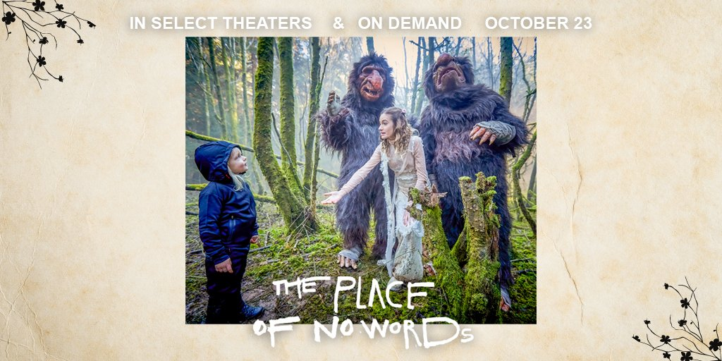 The world is a chaotic place. Take our hand, and follow us to #ThePlaceOfNoWords. @NicoleEBerger @likemark https://t.co/Fw6XcYtsEI