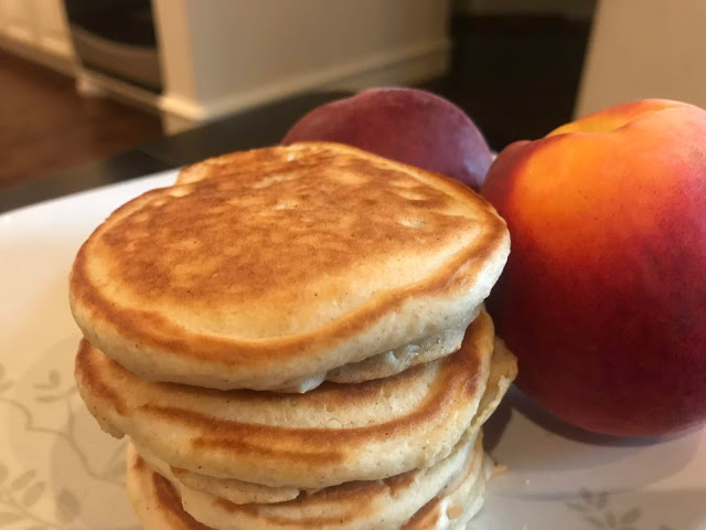 Toss some diced peaches into your pancakes with this recipe: https://t.co/RqxRtCbm8z #Recipe #RecipeBlog #Pancakes #Peach #Peaches #Breakfast #Yum #Foodies #Food #delicious #momlife #perfect #awesome #Texas #California #NewYork #Vermont #Pennsylvania #Utah #Kansas #Florida #North https://t.co/1rnZGEAMEa