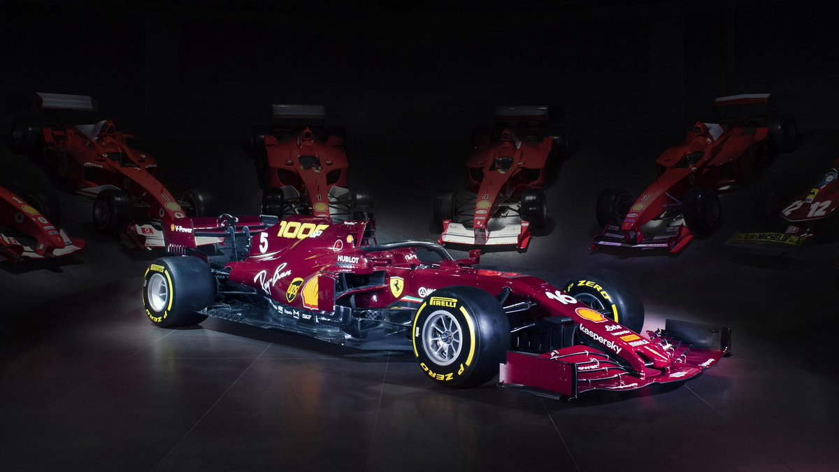 Truly beautiful design and finesse. So disappointing to see Scuderia Ferrari struggle this season but there is always hope in every little way possible. #F1 #Ferrari #sf1000 https://t.co/7zrVWcKs88