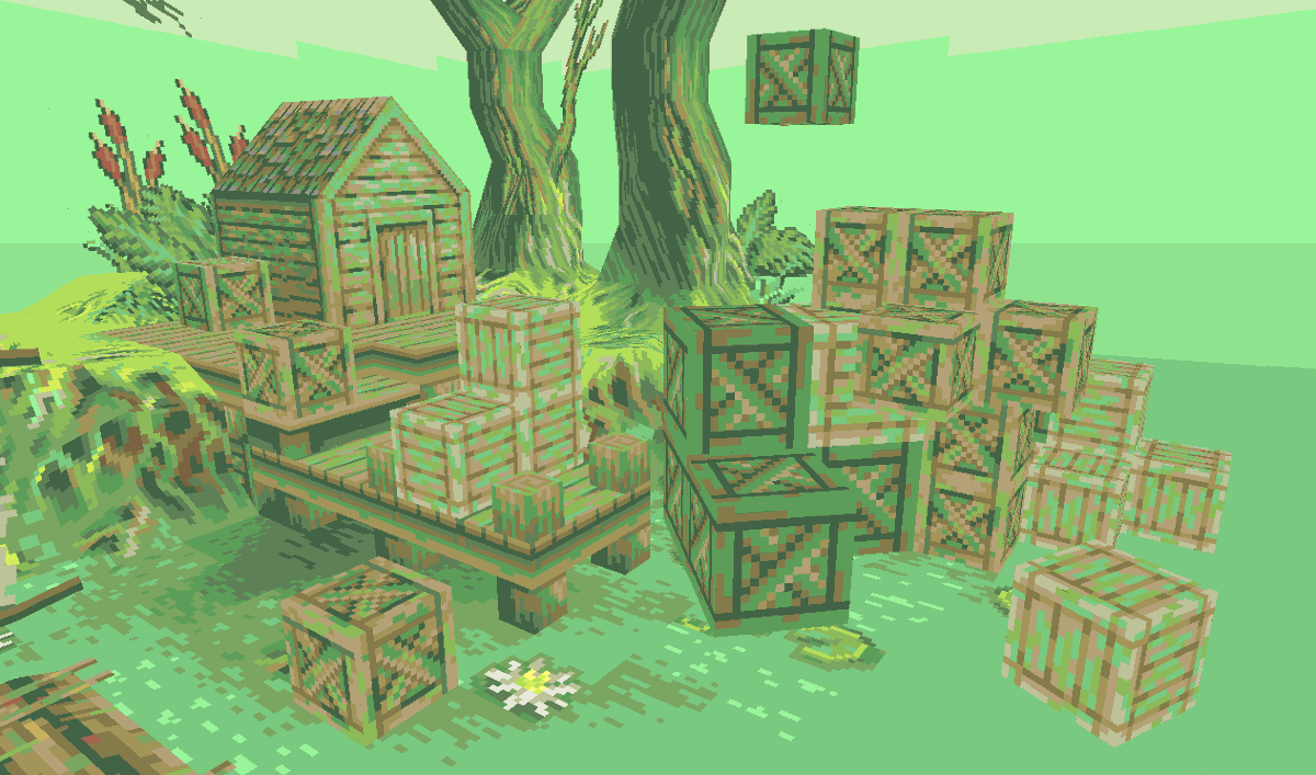 Crocotile 3D version 1.5.3 has been released! New Block tool allows you to build like Minecraft! & new Sticky tool to place tiles next to other tiles without having to move the crosshair. Plus a lot more! 🐊 #lowpoly #pixelart #indiedev #gamedev #screenshotsaturday #ドット絵 https://t.co/V7fj3hK3aY