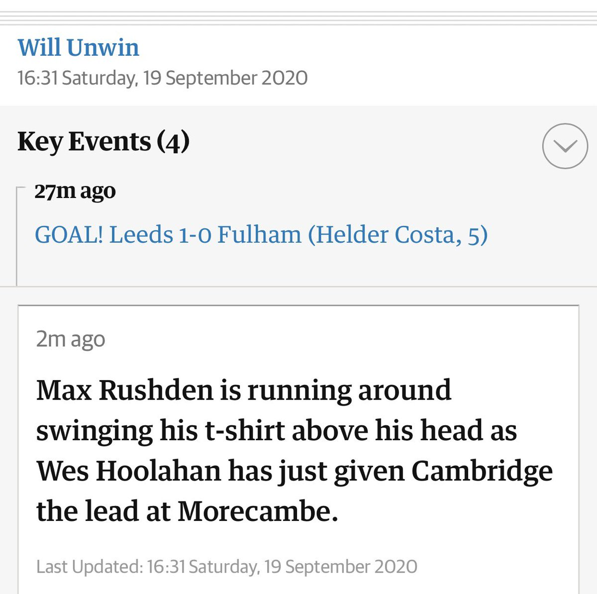 .@maxrushden a big day for newly signed stars in English football https://t.co/fv9KwlLBcC
