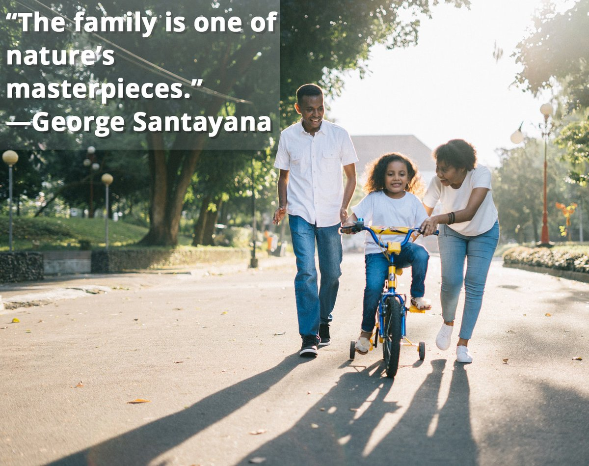 During these challenging times, our families can offer valuable support while we stay home to stop the spread of COVID-19. When families spend quality time together, it not only builds and strengthens relationships, it can help alleviate stress. https://t.co/41JnomgrcL
