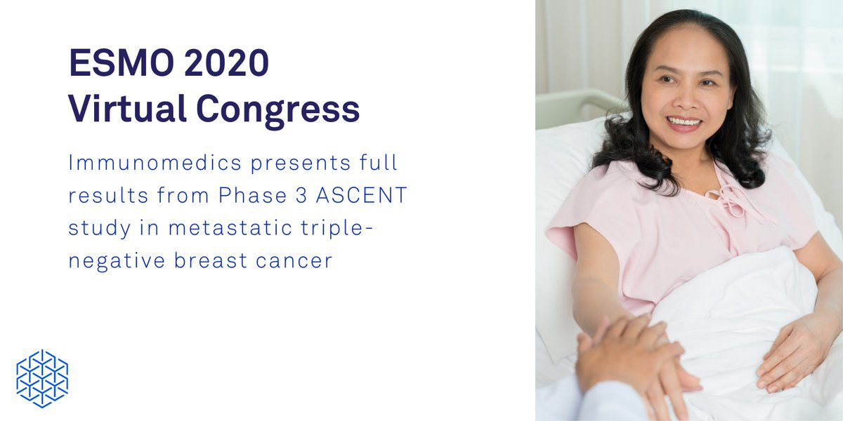 Today at the #ESMO20 Virtual Congress, we're excited to announce full data from our Phase 3 ASCENT study in metastatic triple-negative #BreastCancer (#mTNBC). Read our press release for details: https://t.co/C5z193aYto https://t.co/rVPEOHgchq