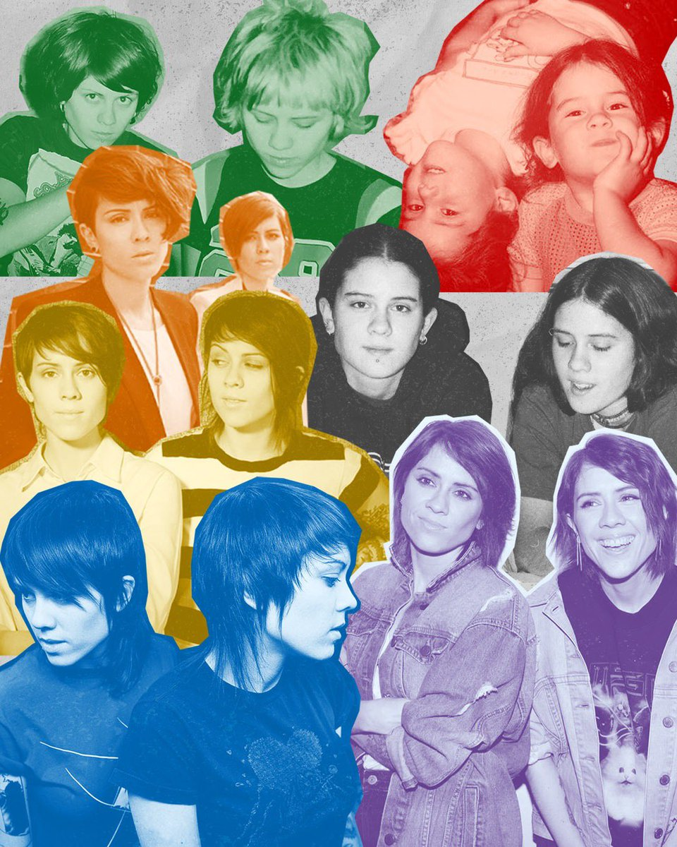 HAPPY BIRTHDAY, TEGAN AND SARA! From rebelling against the norm in high school, to inspiring a legion of fans through a massive career in music, to starting the #teganandsarafoundation to give back to the #LGBTQ+ community, we are grateful for all your work in your 40 years.