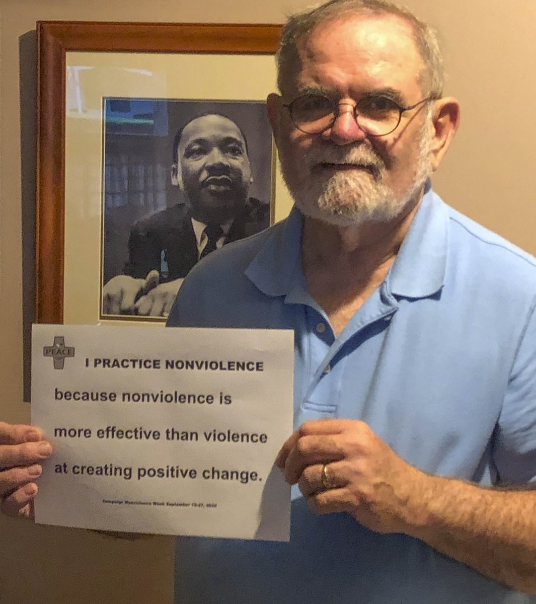 #CapmaignNonviolence week starts today. We need more peace and nonviolence in our American lives. #nonviolence https://t.co/zXQA3JTsIO