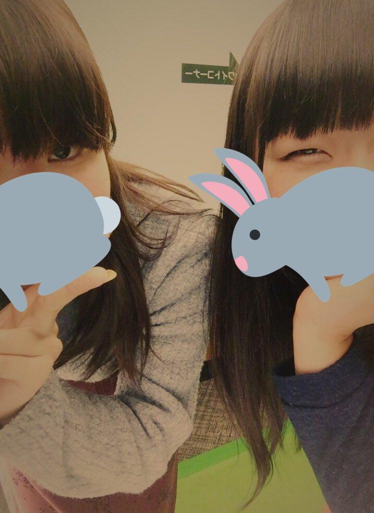 メイクは偉大という話1枚目 ←姉・妹→2枚目←妹・姉→