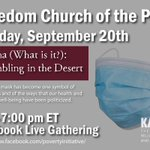 Image for the Tweet beginning: This Sunday Freedom Church of