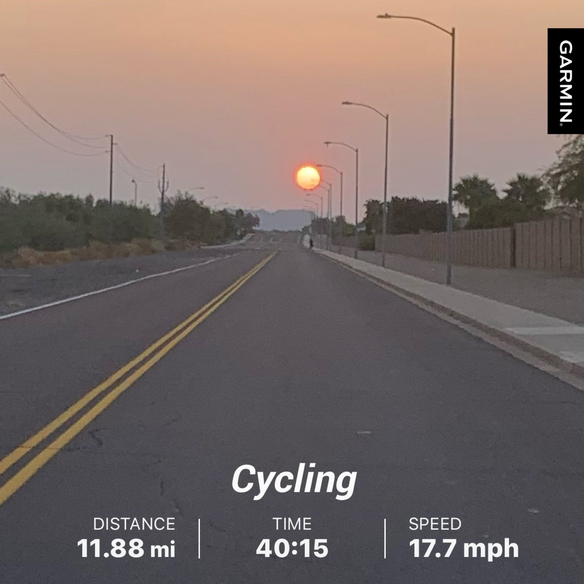 Beat the HEAT!!! I love the clear bike paths of Arizona but have to get out before the 100 degree weather!!! #teamteruel #professionalsuccesssouth #triathlon #running #fitness #swimbikerun #cycling #bike #triathlete #training #ironman #swim #sport #swimming #triathlontraining https://t.co/jy48BGhvB3
