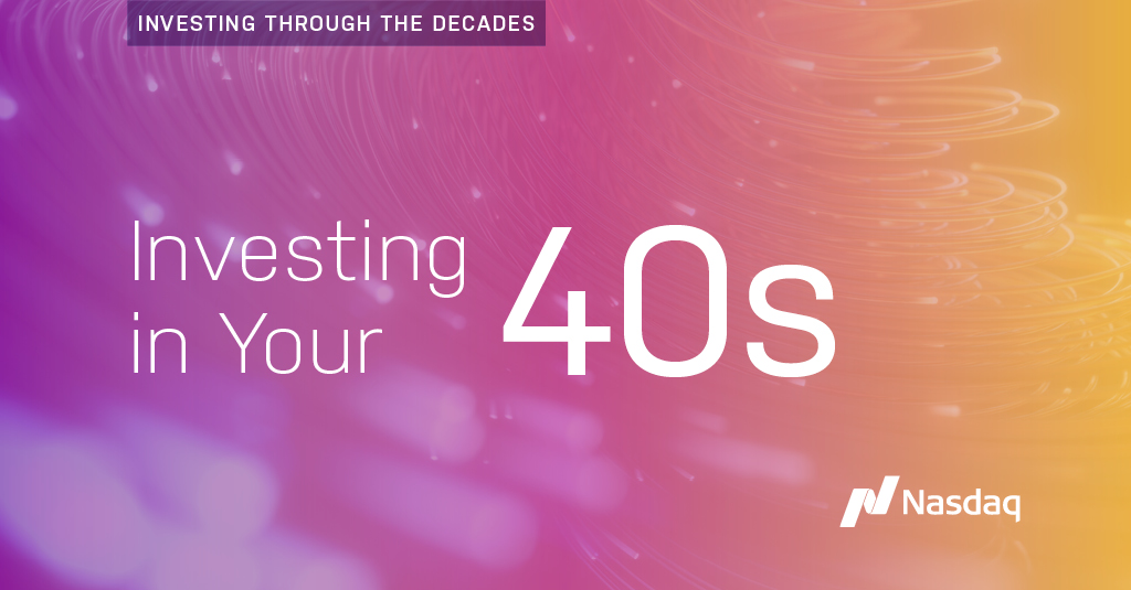 Nasdaq: The financial priorities of your 40s include:  ↔ Shift towards 50% of your portfolio in less volatile investments 💵 Max 401(k) contributions 💵 Max Health Savings Accounts contributions  Learn more from @Nasdaq's #SmartInvesting tips: … https://t.co/v3cZotiV87