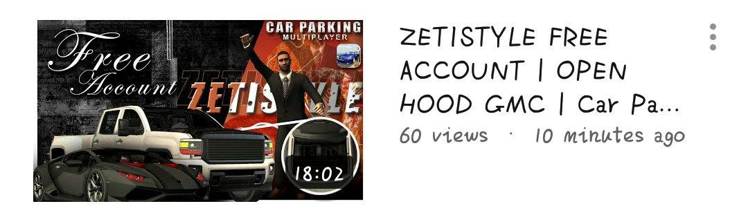 Car Parking Multiplayer 📌 | zeti • free account (5) • #CarParkingMultiplayer #CPM #Gaming #Gameplay #Game #Openhood #Livery #Widebody #LibertyWalk #Tutorial #RustyDecals #YouTuber #YoutubeGaming #zeti #FreeAccount https://t.co/KLEiee4zlF