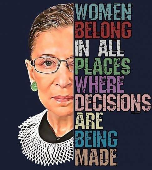 We lost a titan & a relentless #defender in the fight for #justice.  #Ruth Bader #Ginsburg promoted equality and was an unrelenting force in the fight against #gender #discrimination.  She was & will always be a powerful role model for us all.  - Michael Evans #CivilRights https://t.co/7QP2w5T9zo