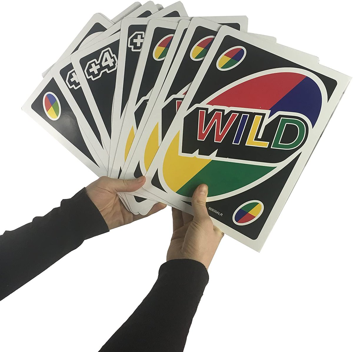Giant UNO Card Game   The same family card game you already know but with cards 3 times larger  Great size for the beach or pool, especially when 8 to 10 people want to play!   Slam that Draw 4 down like a boss!!  Starting at only $14.99   https://t.co/fpBFCvohxb  #ad #giant #uno https://t.co/qn0r51ooGn