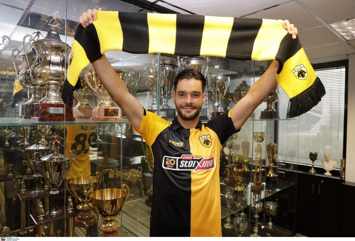 🚨OFICIAL 🚨  🇬🇷 #AEK contratou o meio-campista ucraniano Yevgen Shakhov (29   #Lecce) como agente livre.  Assinatura de contrato válida até junho de 2022. https://t.co/2qHsOtLPCg